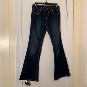 Girls Boot Legged Jeans
